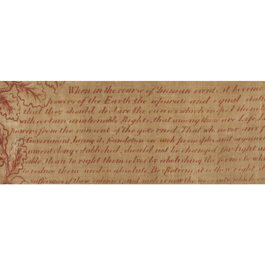declaration of independence pdf one page