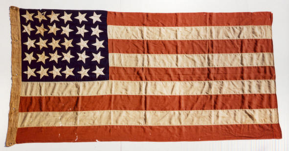 jeff bridgman antique flags and painted furniture 30 star american