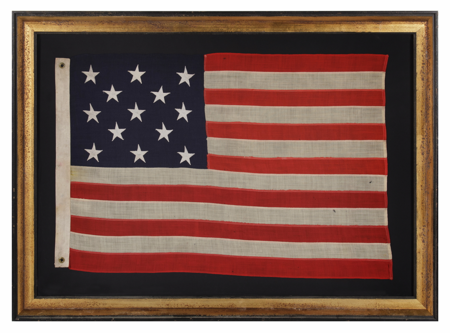 Jeff bridgman antique flags and painted furniture 13 stars 13 stars arranged in a 3 2 3 2 3 pattern on publicscrutiny Image collections