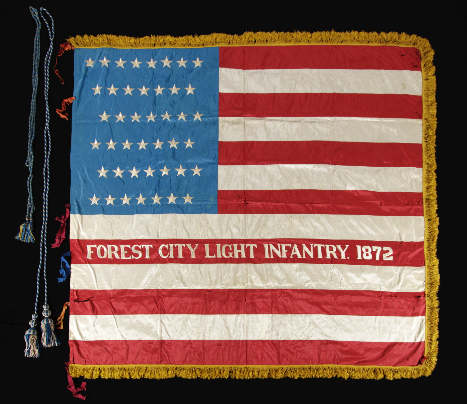 85bcd19e179 Jeff Bridgman Antique Flags and Painted Furniture - 43 STARS
