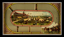 ONE OF THE MOST GRAPHIC STEEPLE CHASE GAMES KNOWN TO HAVE BEEN PRODUCED DURING THE 19TH CENTURY, McLAUGHLIN BROS., NEW YORK, 1888