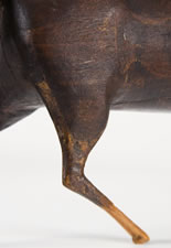 MASTERPIECE FOLK CARVING OF A HORSE, LAST QUARTER 19TH CENTURY
