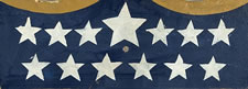LARGE, WWI-ERA, PATRIOTIC AMERICAN SHIELD