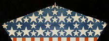DYNAMIC, UNUSUAL KITE, MADE BY MARKS BROS., BOSTON IN THE WWI - WWII ERA (1918-45)
