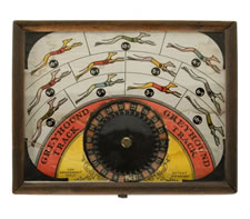 DOG RACE PENNY BETTING GAME, 1910-30