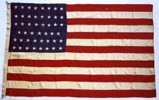 Extremely Rare 47 Star American National Flag