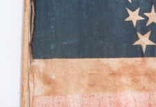 35 Star American Parade Flag -- Rare Great Star Pattern