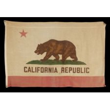 VINTAGE CALIFORNIA STATE FLAG, CA 1940-1960's