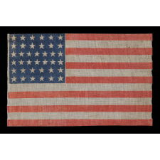 38 STARS, COLORADO STATEHOOD, 1876-1889