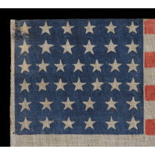 38 STARS, COLORADO STATEHOOD, 1876-1889
