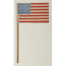45 STARS ON A CORNFLOWER BLUE CANTON, SPANISH-AMERICAN WAR ERA, UTAH STATEHOOD, 1896-1908