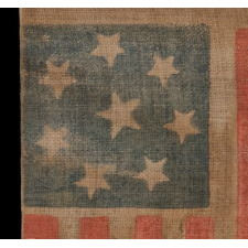 8 STARS, CONFEDERATE SYMPATHIZER, VIRGINIA SECESSION, EXTREMELY SCARCE, 1861