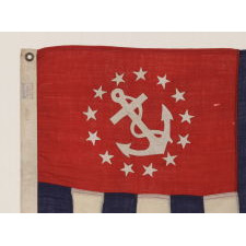 POWER SQUADRONS ENSIGN, MADE BY ANNIN IN NEW YORK CITY, 1914-1920's