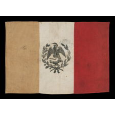 FLAG OF MEXICO IN THE DESIGN USED BETWEEN 1893-1916