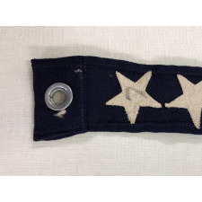 U.S. NAVY COMMISSION PENNANT WITH 7 STARS, A 4 FT. EXAMPLE, WWI-WWII ERA (1917-1945)