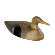MERGANSER HEN DECOY, 1890-1920: