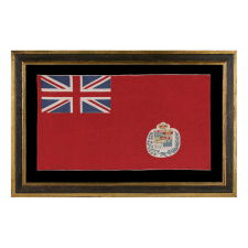 CANADIAN VERSION OF THE BRITISH RED ENSIGN, A BEAUTIFUL EXAMPLE, 1873-1905